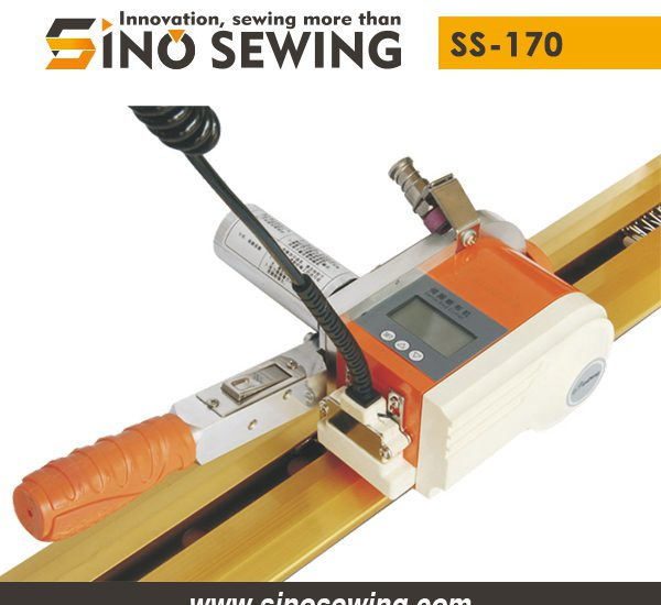 Servo Fabric Lay End Cutter without Burrs (SS-170), Textile Linear Cutting Device Manufacturer
