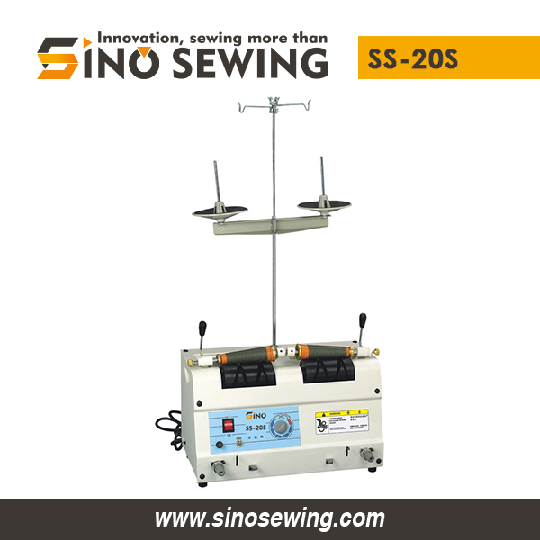Fully Automatic Sewing Thread Winding Machines for Embroidery (SS-20S), High Speed Textile Bobbin Splitter Winder Manufacturer