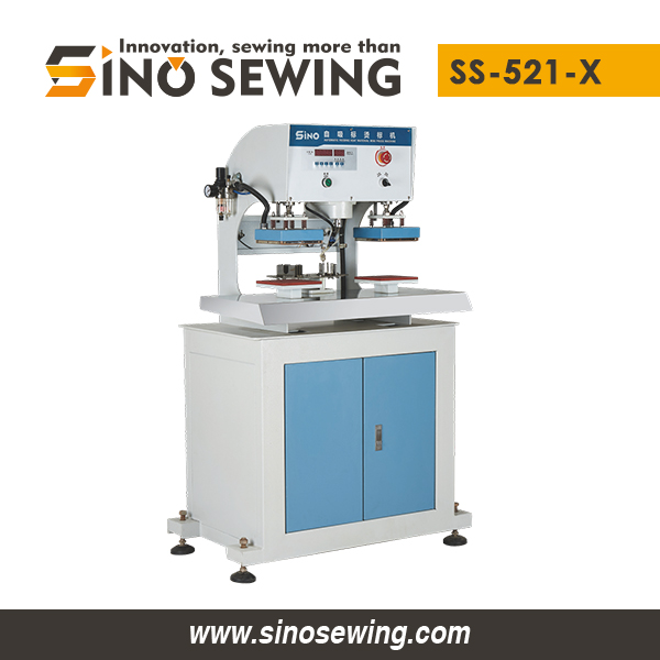 Automatic Self-feeding Mini Double-station Heat Material Press Machines (SS-521-X) Manufacturer