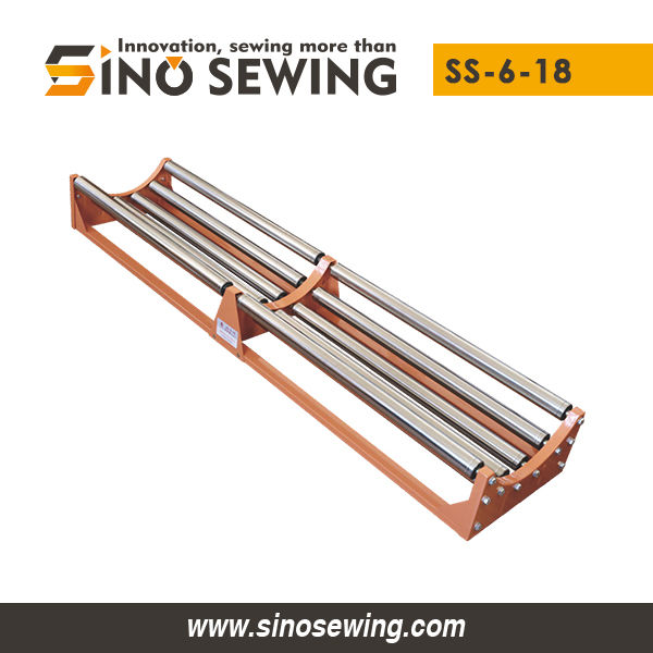 Industrial Fabric Roll-off Cradle Pallets (SS-6-18), Stainless Steel Textile Feeder Manufacturer