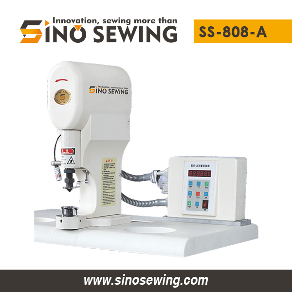 Servo Snap Button Attaching Machine (with Control Panel) (SS-808-A), Fastener Attaching Machine with Infrared Sensor (Laser)