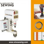 Computerized Direct Drive Snap Button Attaching Machine (with Infrared Sensor), Automatic Eyelet Attaching Machine For Industrial Fabrics, Fastener Attaching Machine Exporter