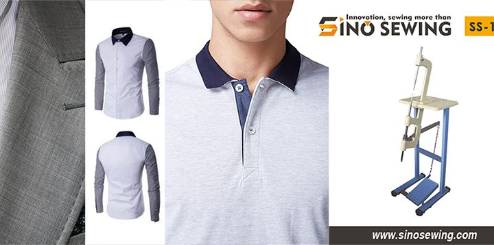 SINO Sewing is a leader in shirt lapel angle machines, accessories and supplies. The industrial semi-automatic suit collar tools are with high quality, unbeatable prices, lifetime technical support assurance.